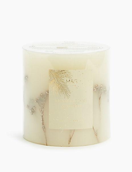 Frankincense & Myrrh Inclusion Candle