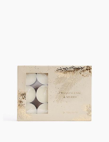 24 Pack Frankincense & Myrrh Tea Lights