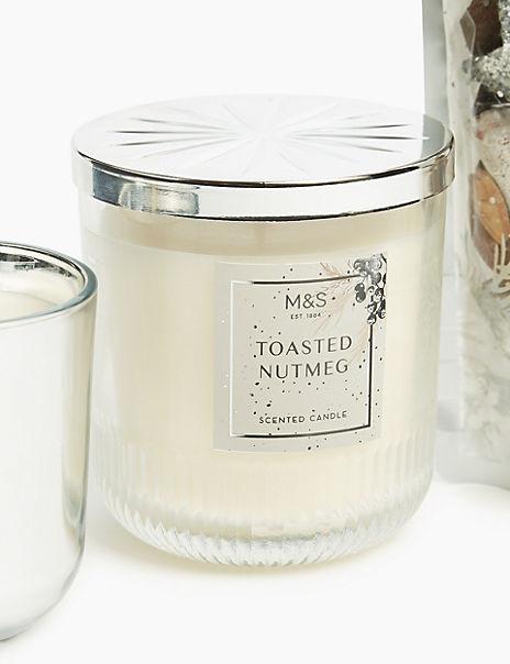 Nutmeg Lidded Candle