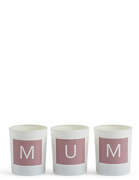 Tea Rose Mum Votive Candles
