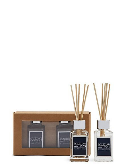 Egyptian Cotton 30ml Twin Diffuser