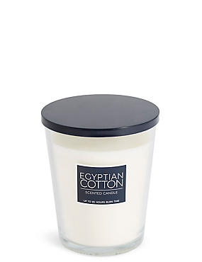 Egyptian Cotton Oversized Scented Candle