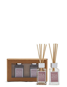 Tea Rose 30ml Twin Diffuser
