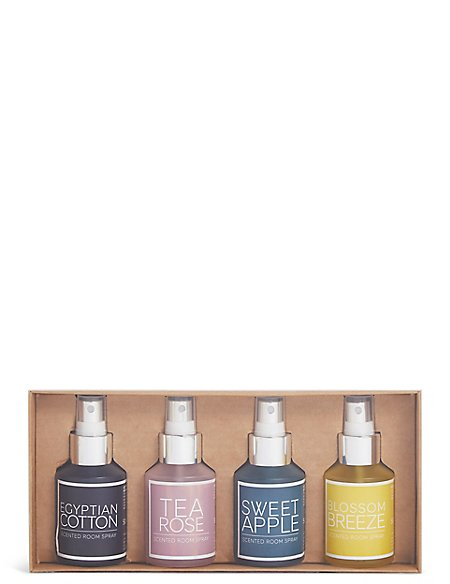 Set of 4 Room Sprays