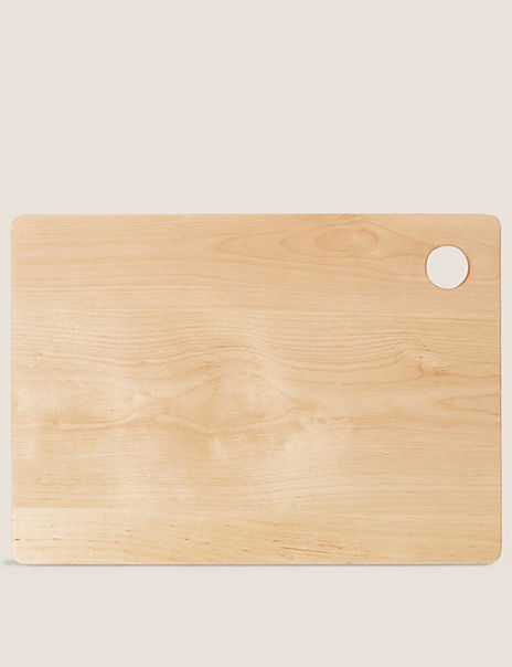 Large Wood Chopping Board with Hole