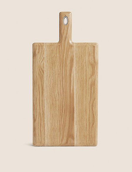 Large Rectangualar Oak Chopping Board