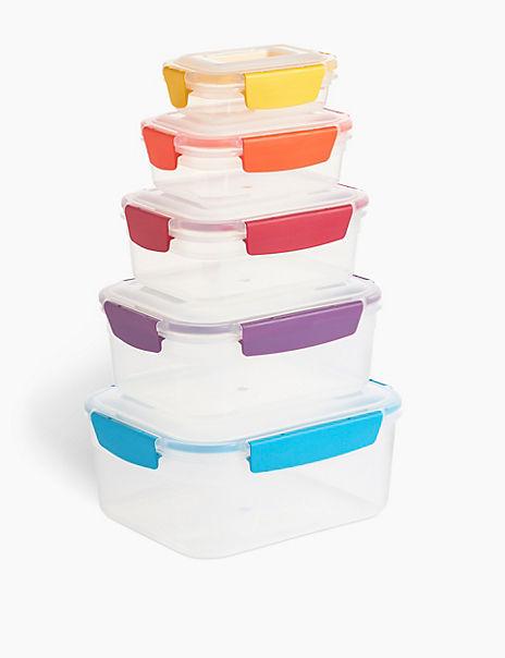 Nest Lock 5-Piece Container Set