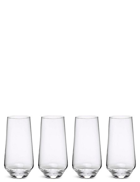 4 Maxim Hi Ball Glasses