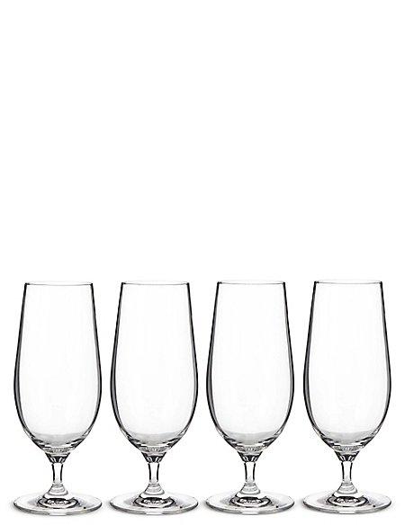 4 Maxim Beer Glasses