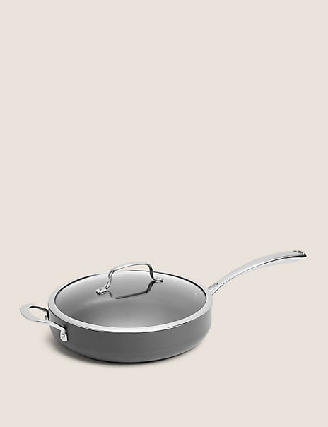 Chef Hard Anodised 28cm Sauté Pan
