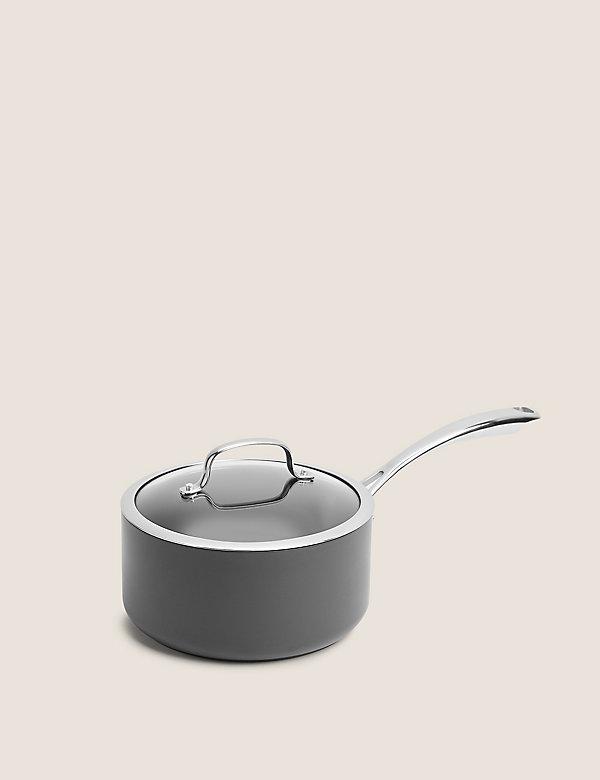 Hard Anodised 20cm Small Saucepan