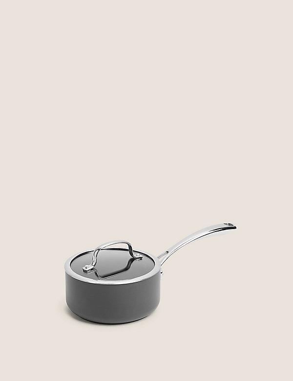 Hard Anodised 16cm Small Saucepan