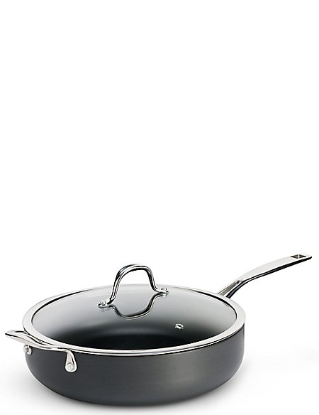 Chef Hard Anodised 28Cm Saute Pan