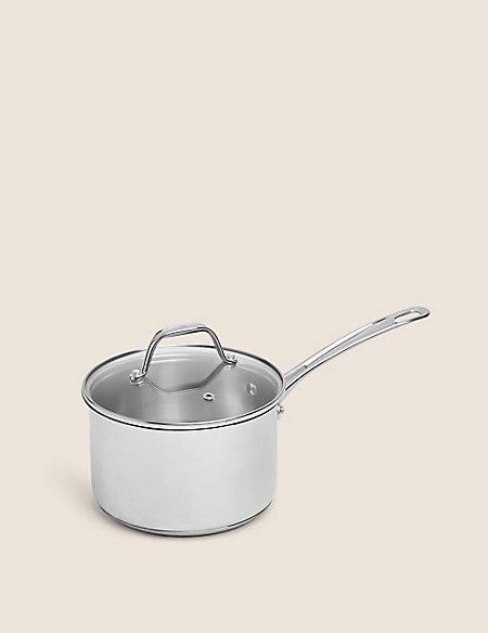 18cm Stainless Steel Saucepan