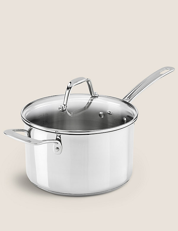 Stainless Steel 20cm Small Saucepan