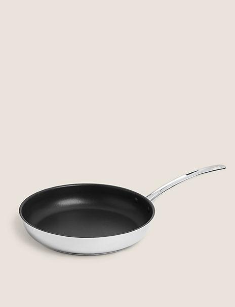 Stainless Steel 28cm Frying Pan