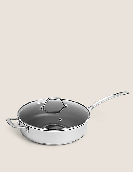 28cm Stainless Steel Non-Stick Sauté Pan