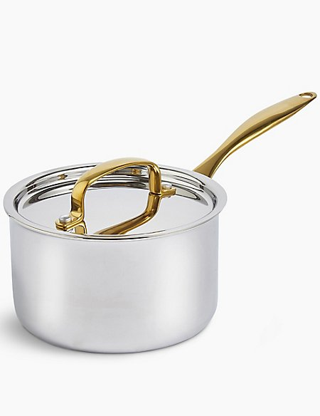 Chef Tri Ply 16cm Saucepan