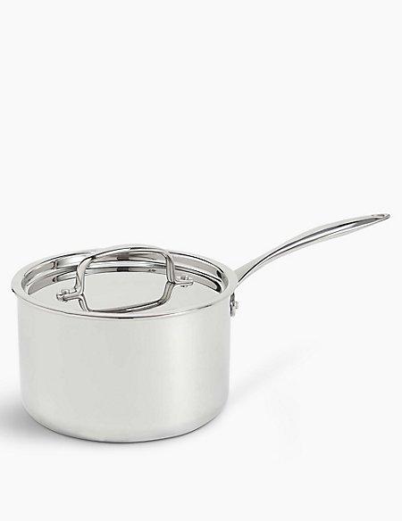 Chef Tri Ply 18cm Saucepan