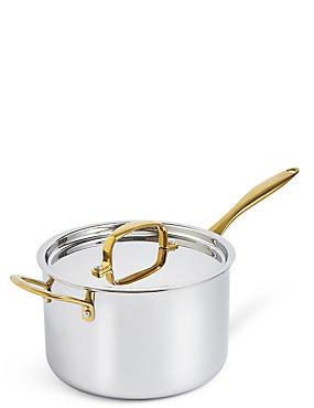 Chef Tri Ply 20cm Saucepan