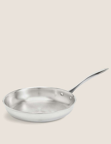Chef Tri Ply 24cm Textured Fry Pan