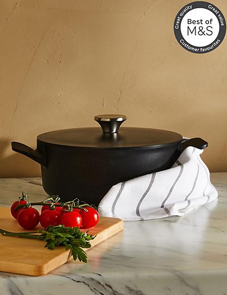 3L Cast Aluminium Casserole Dish