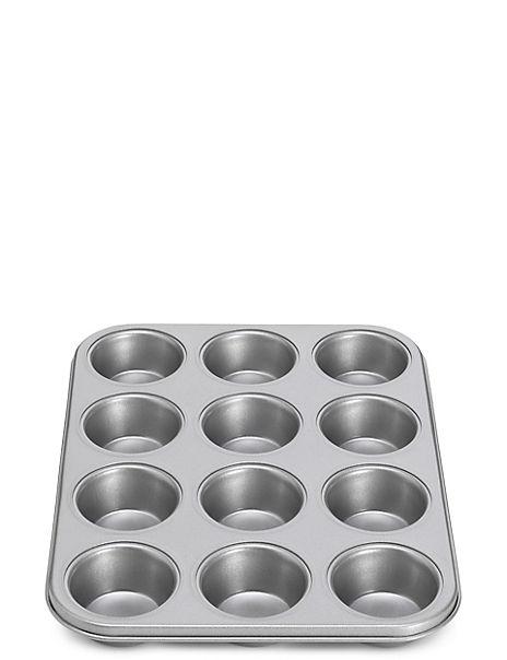 12 Cup Non-Stick Muffin Tray