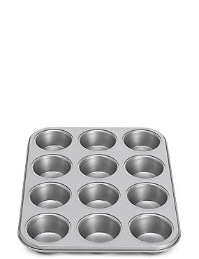 12 Cup Non-Stick Muffin Tray
