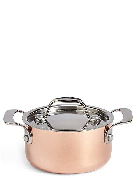 Chef Mini Copper Casserole Dish