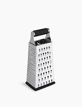 24cm Stainless Steel 4 Sided Grater
