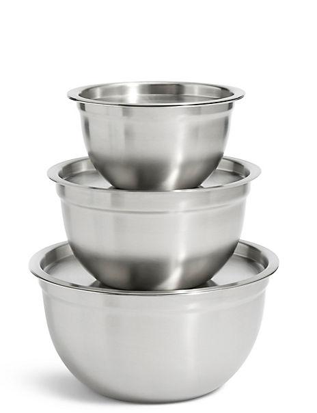 Set of 3 Marinating Bowls