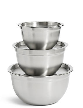 Set of 3 Marinating Bowls