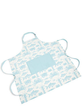 Seaside Core Print Apron