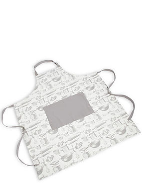 Baking Core Print Apron