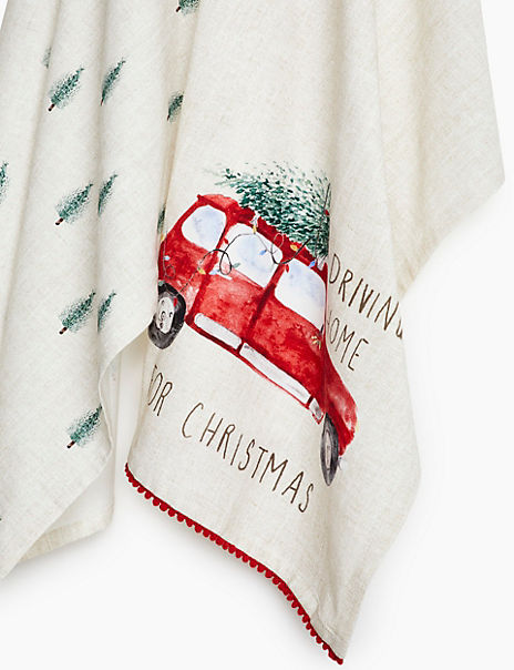 2 Pack Driving Home Tea Towels