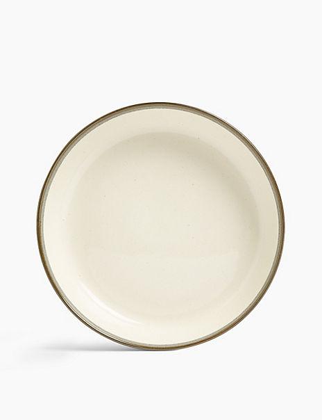 Set of 4 Amberley Stoneware Pasta Bowls
