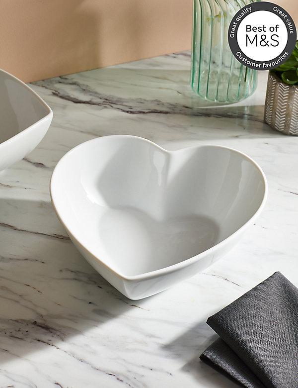 Maxim Heart Serving Bowl