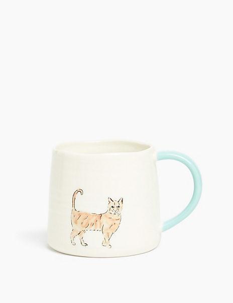 Ginger Cat Print Mug