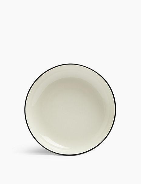 Tribeca Rimmed Stoneware Pasta Bowl
