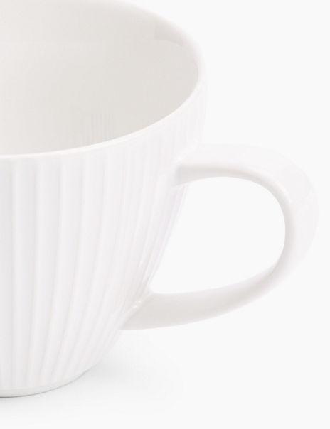 Textured Ivory Mug