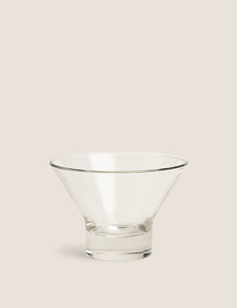 Glass Flare Dessert Bowl