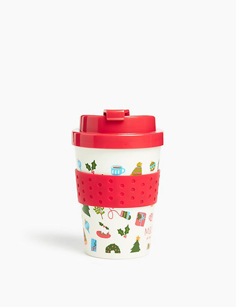 Small Christmas Travel Mug