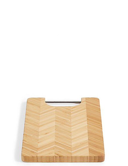 Hexagonal Bamboo Rectangler Small Chopping Board
