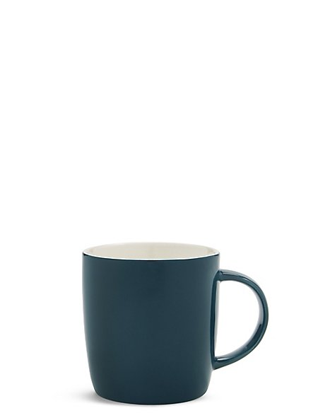 Fine China Indigo Mug