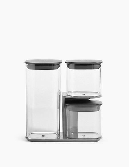 Set of 3 Podium Storage