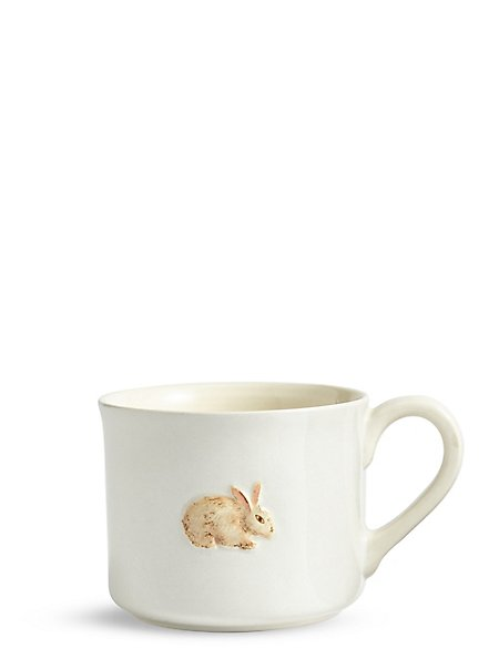 Embossed Rabbit Mug