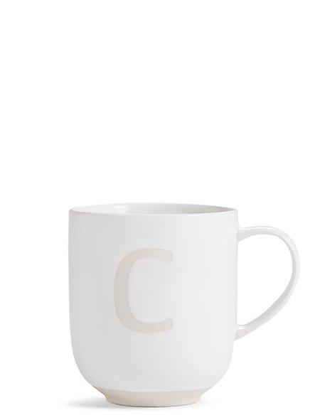 Alphabet C Mug