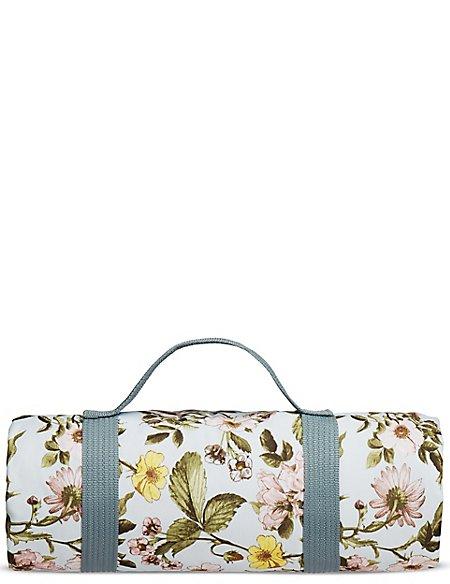 Dovecote Floral Picnic Blanket | M&S