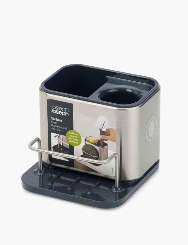 Dark Green Retro Circular Marks And Spencer Ceramic Bread Storage Bin