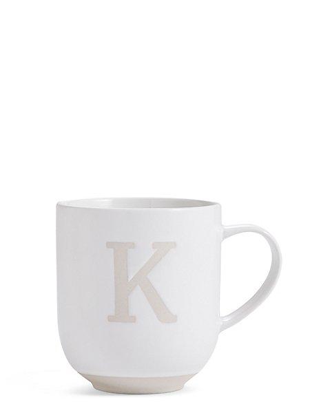 Alphabet K Mug
